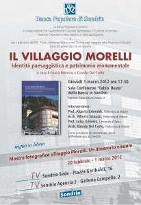 Il Villaggio Morelli: identità paesaggistica e patrimonio monumentale